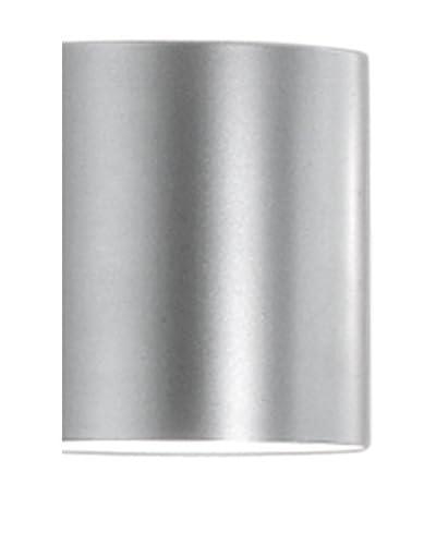 Martinelli Luce Lámpara De Pared Tube 14 Blanco Ø14 H 20cm