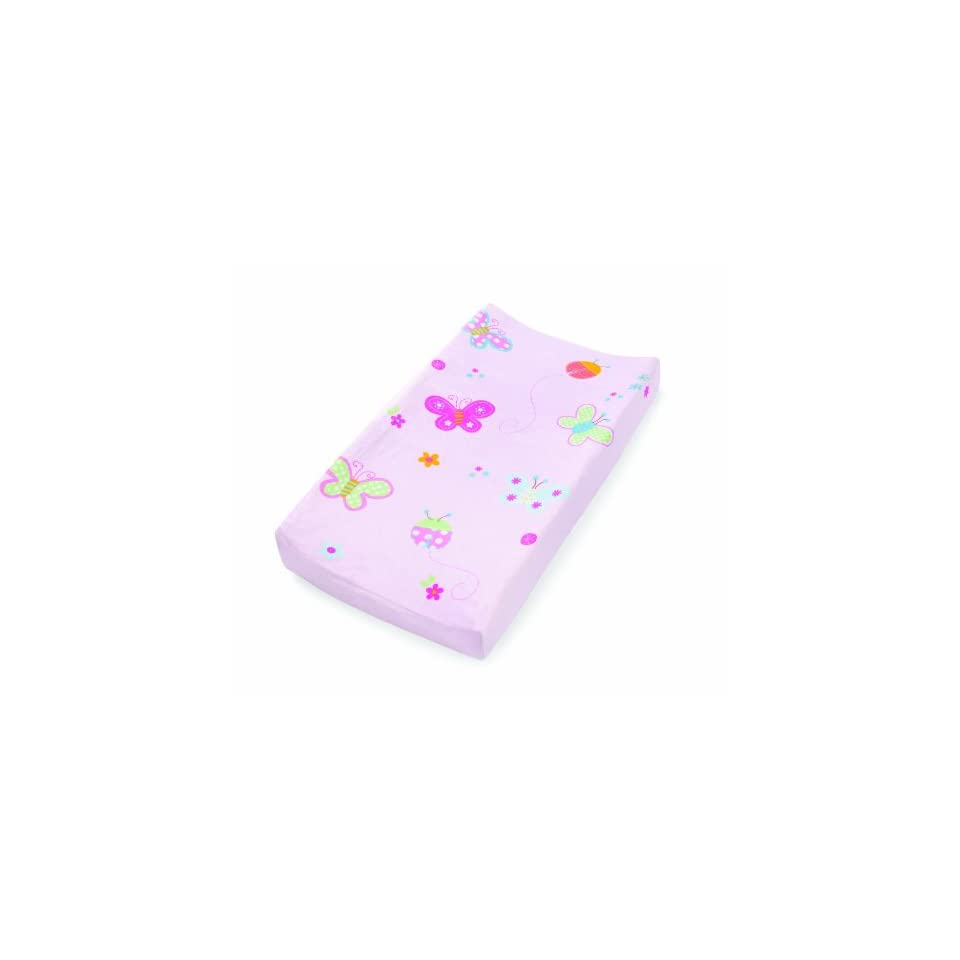 Summer Infant Character Change Pad Cover, Butterfly Ladybug