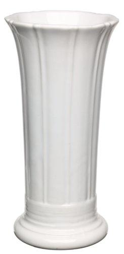 Fiesta 8-Inch Flower Vase, White