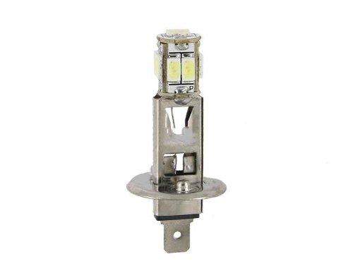 2 H1 Base 9 Smd 6060 Led Fog Light Bulb (White)