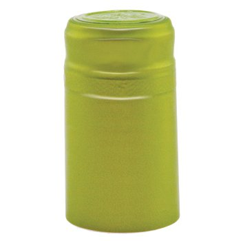 Green Tea - PVC Shrink Caps with Tear Off 100 Per Pack (Green Tea Wine compare prices)
