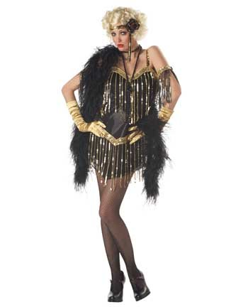 Adult 20s Jazzy Baby Flapper Costume