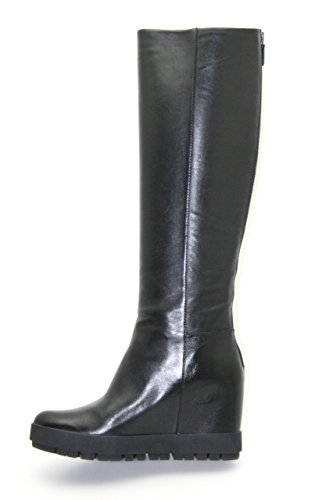 Prada Womens 3WZ010 Leather Boots