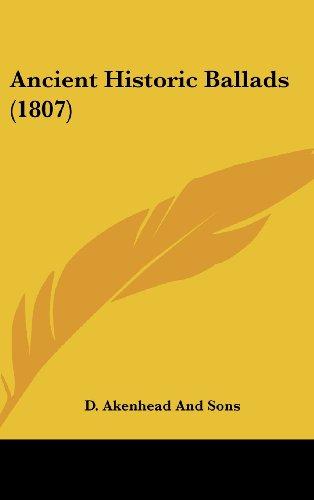 Ancient Historic Ballads (1807)