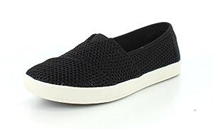 TOMS Womens Tribal Woven Avalon Sneaker Flat (9 B(M) US, Black Mesh)