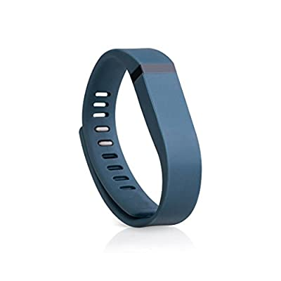 Bracelet Sport Replacement Wrist Band With Clasps for Fitbit Flex BACK PACK Slate Large Band