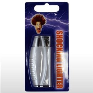 Electric Shock Lighter Shocking Gag Joke Prank Gift