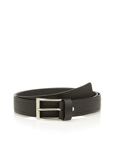 E4 Cintura Pelle 14464 [Nero]