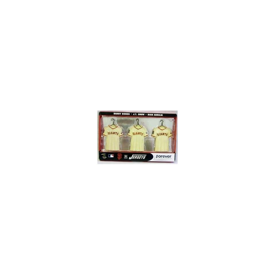 San Francisco Giants Jersey Magnet Set