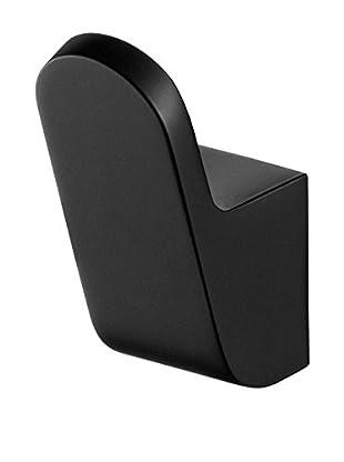 Bisk Gancho Porta Objetos Futura Single Negro