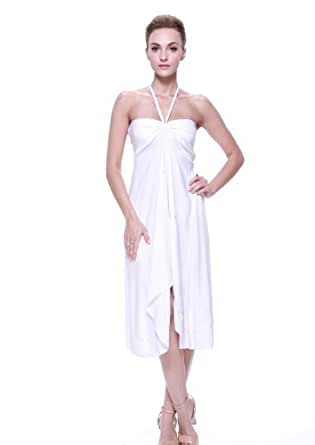Tropical Group Women 39 S Hawaiian Beach Wedding Dress At