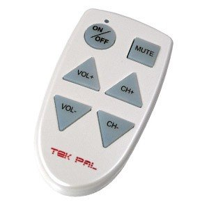 Tek Pal - Large Button TV Remote Control [Electronics]