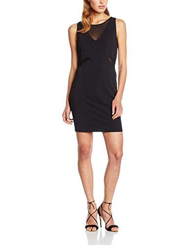 ONLY onlMAFER S/L SHORT DRESS WVN, Vestito Donna, Nero (Black), 36