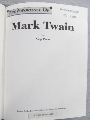 The Importance of Mark Twain