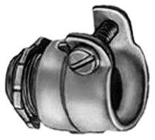 Bridgeport 407 1/2-Inch Flexible Metal Conduit Squeeze Connector, 10-Pack