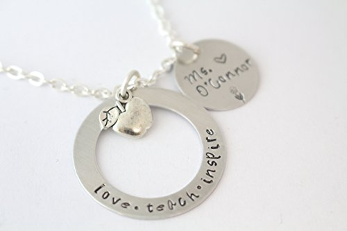 teach-love-inspire-necklace-gift-for-teacher-apple-charm-personalized