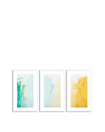 Gallery Direct Strokes Of Color Triptych