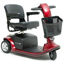 Pride Mobility Victory 9 3 Wheel Scooter Red