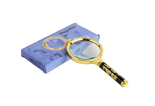 90mm-Handheld-5X-Loupe-Magnifier-Magnifying-Glass-Lens-Perfect-Viewing-Small-New-by-Generic