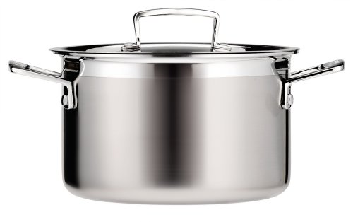 Le Creuset Tri-Ply Stainless Steel 4-1/4-Quart Covered Casserole/Stockpot (Kitchen)