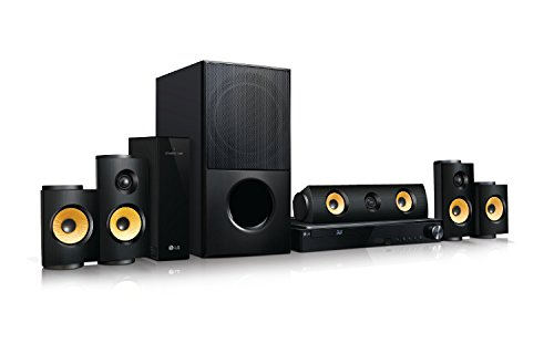 LG LHB725W Home Theater, 5.1 Canali, 1200 W, Wi-Fi, Bluetooth, Nero