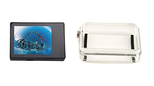 """Elecs 2.0"""" Lcd Bacpac External Display Monitor Non-Touch Screen With Backdoor For Gopro Hd Hero 3+"""