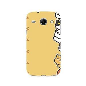 TAZindia Designer Printed Hard Back Case Cover For Samsung Galaxy Core i8262