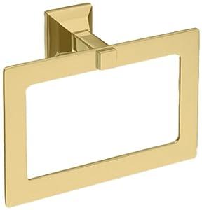 Toto YR930#PB Lloyd Towel Ring, Polished Brass