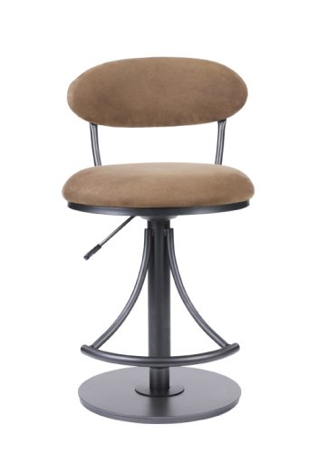 Incredible Compare Prices Hillsdale Venus Adjustable Swivel Stool Black Pabps2019 Chair Design Images Pabps2019Com