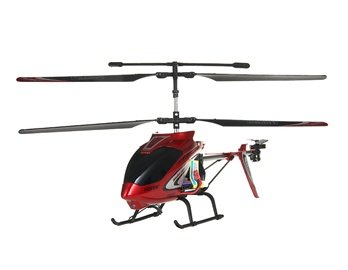 Huanqi 823A 3-Channel RC Helicopter with Gyroscope (Red)