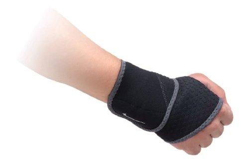 Nike Wrist And Thumb Wrap (Black/Dark Charcoal, One Size)
