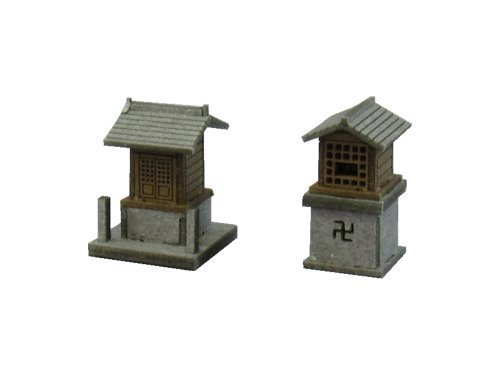 Sankei  1/150 Diorama Option Kit shrine A (shrine) (Paper Craft Kit) Sankei - 1