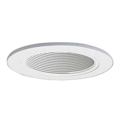 Halo 993W 4-Inch White Coilex Baffle with White Trim