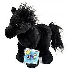 Webkinz Black Stallion New with Sealed Tags and Unused Code - Retired