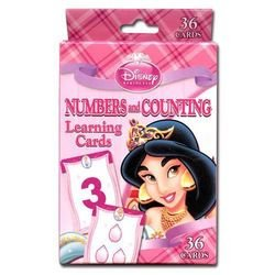 Disney Princess Numbers and Counting Learning Game Cards - 1