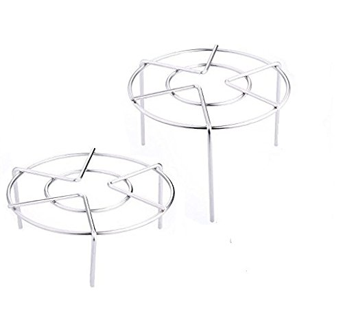 K-Steel Electric Pressure Cooker Steam Rack Cooking Ware Steaming Rack Stand,2Pcs/Set,HIGN FOOT