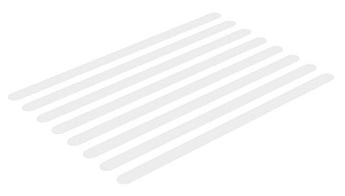 Soleo 8 Anti-Rutsch-Streifen, Dusche und Badewanne, Transparent, Selbstklebend