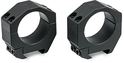 Vortex Precision Matched Riflescope Rings (Set of 2) Medium-Plus for 34 mm (1.00 Inch Height) from Vortex Optics