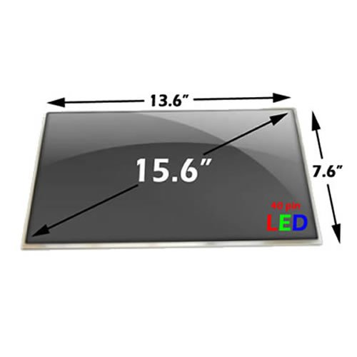"Samsung Ltn156At02 Laptop Lcd Screen 15.6"" Wxga Glossy Led-Backlight Right Co..."
