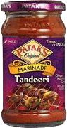 Pataks Tandoori Spicy Ginger and Garlic Marinade 312g by Patak's