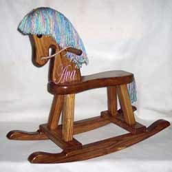 Personalized Rocking Horse