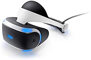 Sony Playstation VR Headset Compatible For PlayStation 4 | Advanced VR Display | 3D Audio Technology | 5.7OLED 1080p Display | HDMI | USB |Customize Your Own Game VR Accessories (Headset / VR Bundle)