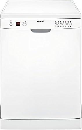 Brandt DFH12127W lave-vaisselle - lave-vaisselles (Autonome, A, A+, Blanc, boutons, A)