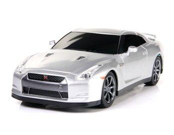 RASTAR 35200 1:24 6-Channel Radio Controlled Nissan GTR Licensed Car Model (Silver) + Worldwide free shiping