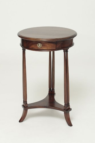 Buy low price mahogany round end table stbr for Buy round table