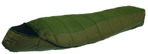 ALPS Mountaineering Crescent Lake Wide Mummy Sleeping Bag (36 x 84-Inch), -20-Degrees