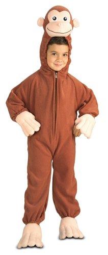 Curious George Fleece Costume: Boy's Size 4-6 - Buy Curious George Fleece Costume: Boy's Size 4-6 - Purchase Curious George Fleece Costume: Boy's Size 4-6 (Rubies, Toys & Games,Categories,Preschool,Pre-Kindergarten Toys)