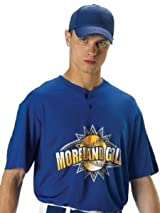Don Alleson 522MM Adult eXtreme Mock Mesh Adult Baseball Jersey (Call 1-800-327-0074 to order)