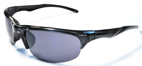 Hilton Bay A77 Sunglasses Wrap Style UV400 Lens for Baseball, Softball, Cycling, Golf, Kayaking and All Active Sports