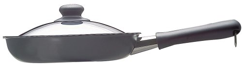 Sori Yanagi Iron Skillet 25cm with Lid Frying-pan